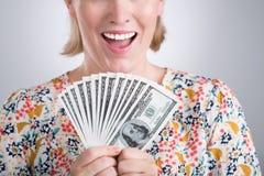 Κάτοχος χρημάτων Στοκ εικόνα με δικαίωμα ελεύθερης χρήσης