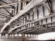 Κάτω από μια γέφυρα Στοκ Φωτογραφίες