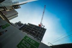 Κάτω από την κατασκευή Στοκ Φωτογραφία