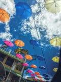Κάτω από την ομπρέλα μου Στοκ εικόνα με δικαίωμα ελεύθερης χρήσης