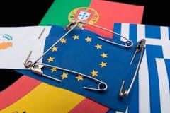 Κάτω από την προστασία της Ευρωπαϊκής Κοινότητας Στοκ Εικόνες