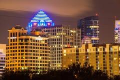 Κάτω από την πόλη Fort Lauderdale Στοκ εικόνες με δικαίωμα ελεύθερης χρήσης