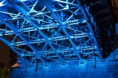 Κάτω από τη γέφυρα Στοκ Εικόνες