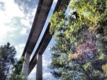Κάτω από τη γέφυρα Στοκ Φωτογραφίες