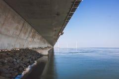Κάτω από τη γέφυρα Στοκ Εικόνα