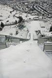 κάτω από τη skijump όψη Στοκ εικόνα με δικαίωμα ελεύθερης χρήσης