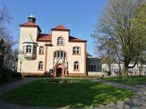Κάτω από τον πόλης ` s ήλιο του Recklinghausen στοκ φωτογραφία