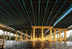 Κάτω από το ι overpass 95 στο Fort Lauderdale στοκ φωτογραφία