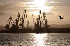 κάτω από το λιμάνι Στοκ Φωτογραφίες