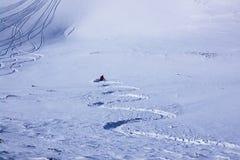 κάτω από το φρέσκο πηγαίνοντ Στοκ Φωτογραφίες