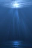 κάτω από το ύδωρ Στοκ εικόνα με δικαίωμα ελεύθερης χρήσης