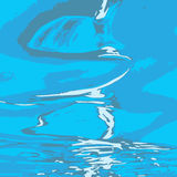 κάτω από το ύδωρ Στοκ Εικόνα