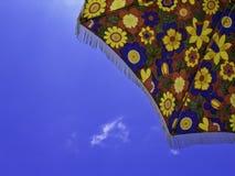 Κάτω από sunshade Στοκ Εικόνες