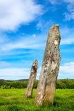 Κάτω μόνιμες πέτρες Largie Στοκ Φωτογραφία
