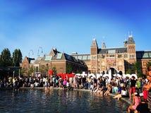 Κάτω Χώρες, Άμστερνταμ Στοκ εικόνες με δικαίωμα ελεύθερης χρήσης