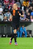 Κάτω Χώρες Arjen Robben Στοκ εικόνες με δικαίωμα ελεύθερης χρήσης