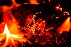 Κάψιμο newpaper στοκ εικόνες