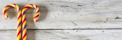Κάλαμοι καραμελών Στοκ Εικόνες