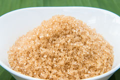 Κάλαμος ζάχαρης, καφετιά ζάχαρη Στοκ εικόνα με δικαίωμα ελεύθερης χρήσης
