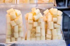 Κάλαμος ζάχαρης Στοκ Φωτογραφίες