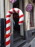 Κάλαμος καραμελών Στοκ εικόνα με δικαίωμα ελεύθερης χρήσης