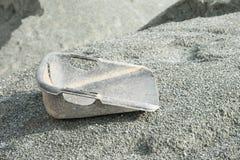 Κάδος και αμμοχάλικο στοκ φωτογραφία με δικαίωμα ελεύθερης χρήσης