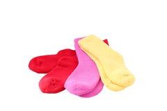 κάλτσα απομονωμένος στοκ εικόνα με δικαίωμα ελεύθερης χρήσης