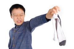 Κάλτσα κακής μυρωδιάς στοκ φωτογραφίες