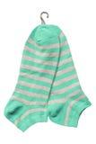 Κάλτσες βαμβακιού Στοκ φωτογραφία με δικαίωμα ελεύθερης χρήσης