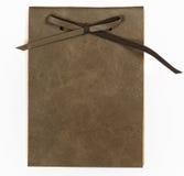 Κάλυψη βιβλίων σημειώσεων δέρματος Στοκ εικόνα με δικαίωμα ελεύθερης χρήσης