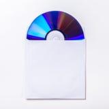 Κάλυψη εσωτερικών του CD ή DVD Στοκ εικόνα με δικαίωμα ελεύθερης χρήσης