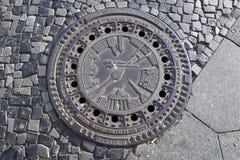 Κάλυψη καταπακτών Στοκ φωτογραφία με δικαίωμα ελεύθερης χρήσης