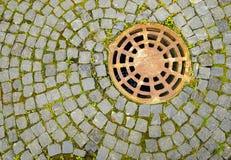 Κάλυψη καταπακτών Στοκ εικόνα με δικαίωμα ελεύθερης χρήσης