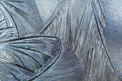 κάλυψη παγωμένη διανυσματικός χειμώνας προτύπων Στοκ Εικόνες