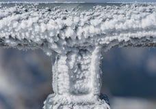 κάλυψη παγωμένη διανυσματικός χειμώνας προτύπων Στοκ Εικόνα