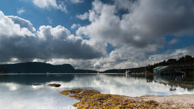 Κάλυψη στον ουρανό Στοκ εικόνα με δικαίωμα ελεύθερης χρήσης