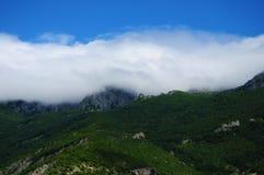 Κάλυψη σύννεφων Στοκ Φωτογραφία