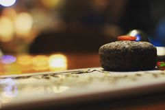 Κέικ λάβας Στοκ φωτογραφία με δικαίωμα ελεύθερης χρήσης