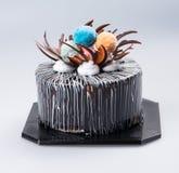 κέικ ή κέικ για τις διακοπές σε ένα υπόβαθρο Στοκ εικόνα με δικαίωμα ελεύθερης χρήσης