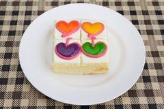 Κέικ αγαπημένων Στοκ Φωτογραφία