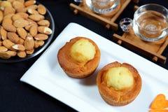 κέικ αυγών Στοκ φωτογραφίες με δικαίωμα ελεύθερης χρήσης