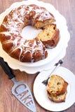 Κέικ δαχτυλιδιών φρούτων Στοκ Εικόνα
