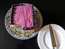 κέικ βακκινίων Στοκ Εικόνα