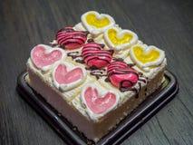Κέικ βανίλιας Στοκ Εικόνες