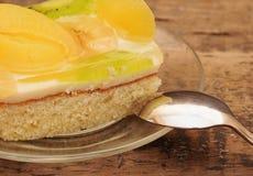 κέικ βερίκοκων Στοκ φωτογραφία με δικαίωμα ελεύθερης χρήσης