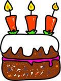 κέικ γενεθλίων απεικόνιση αποθεμάτων