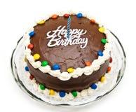 κέικ γενεθλίων Στοκ Φωτογραφίες