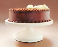 Κέικ γενεθλίων σοκολάτας Στοκ Φωτογραφίες