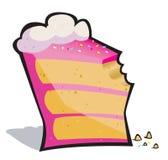 κέικ δαγκωμάτων ελεύθερη απεικόνιση δικαιώματος