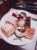 Κέικ ερήμων στοκ φωτογραφία